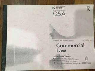Commercial law QnA