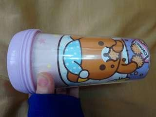 正品🌠鬆弛熊連蓋密實杯