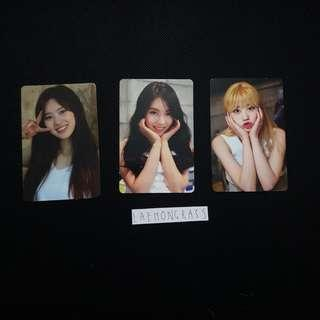 wekimeki first single, debut album photocards
