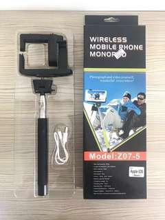 🚚 Selfie Stick: KJSTAR Z07-5 Bluetooth Selfie Rotary Extendable Handheld Monopod