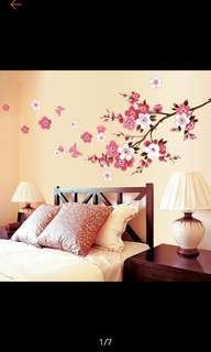 CNY wall decoration- classy cherry blossom