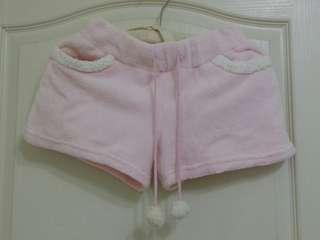 🚚 粉紅羽毛紗短褲 XS~S號