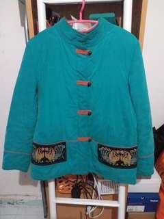 中式棉外套