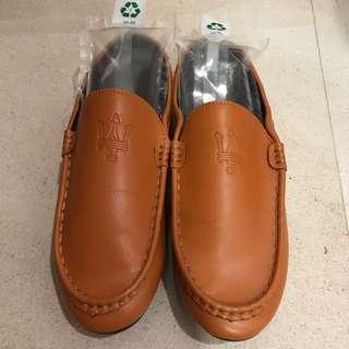 Men Orange Loafer