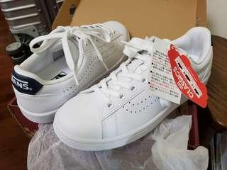 Van's vans volley 白色 leather sneakers 皮 鞋 日本版 Japan
