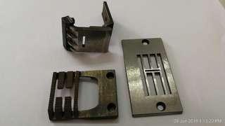 Sewing attachment for manufacturing ladies under garment