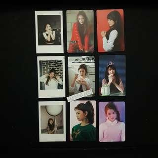 wekimeki 2nd mini album photocards