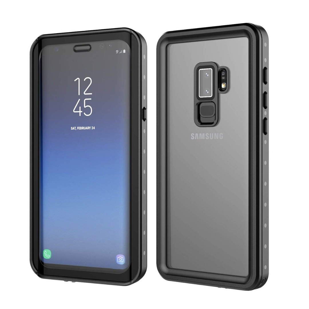new product c852b bb2be 1812 Samsung Galaxy S9 Plus Waterproof Case, IP68 Certified Full Sealed  Shockproof Dustproof Snowproof Anti Scratch Full Protection Outdoor  Underwater ...
