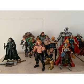 Unwanted Marvel Legends Thor Asgardians and other rare figures