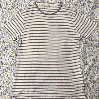Zara Men's Striped Linen Shirt