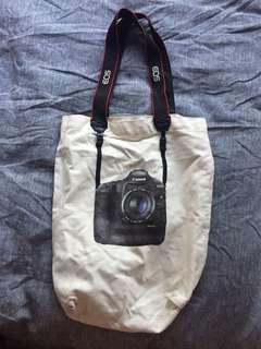 Canon Eos canvas bag