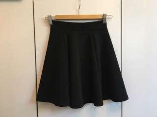 黑色半截裙 Black skirt