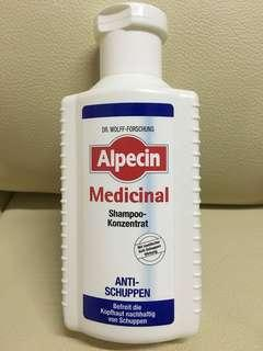 全新 德國製造 ALPECIN MEDICAL Anti schuppen去頭皮屑洗頭水 200ml