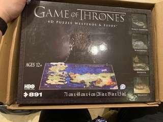 Game of Thrones Official 4D puzzle
