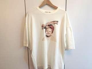 aSOE white shirt