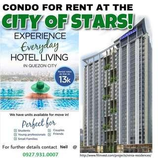 Condo for Rent in front of Trinoma, QC.