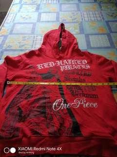One Piece Shanks & Ben Beckman Baju Sweater Hoodie Rare Bundle