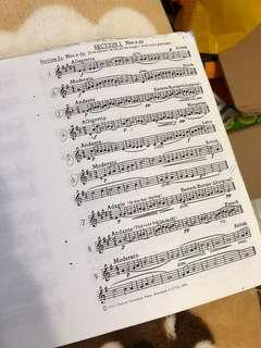 Piano practice book