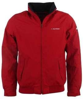 Red Tommy Hilfiger Jacket
