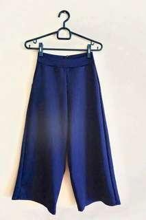Navy Pants Culotte