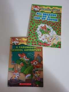 GEROMINO STILTON BOOKS