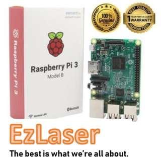 Raspberry Pi 3 Model B 1GB RAM WiFi BLE 100% Original Genuine Warranty