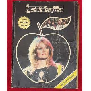 Vintage 1980s Song Book