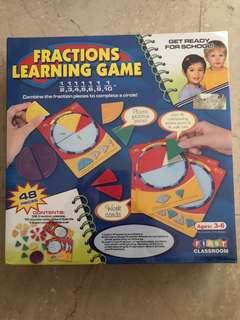 Fractions Learning Game: 48 pieces