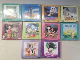 VCD宮崎駿名作10隻碟一套