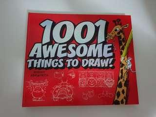 DRAWING BOOK - 1001 AWESOME THINGS TO DRAW