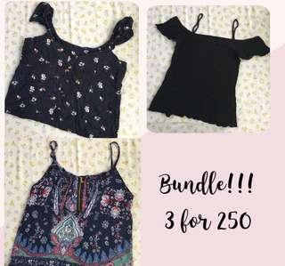 Bundle tops!!!