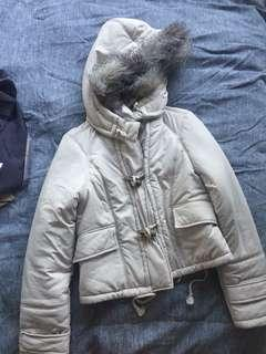 Witchery jacket with removable hood