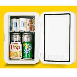 【Ready Stock】6L Mini Car Refrigerators Fridge Cooler Warmer Icebox 12V Travel