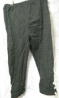 🚚 Black pants 黑褲 彈性