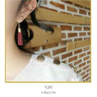 Korean Style Tassel Earrings