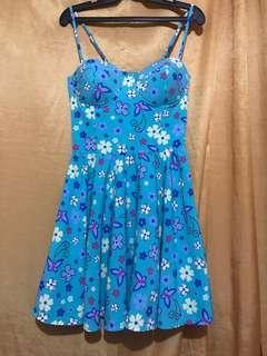 Padded Summer Dress
