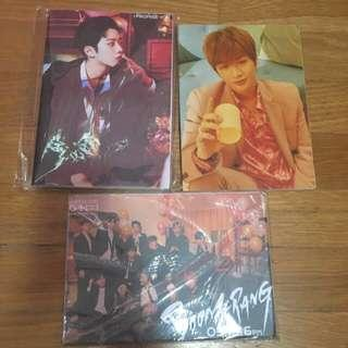 [Prices decrease] Selling Wanna One note books notebooks