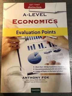 ECONS A LEVEL EVALUATION GUIDE BOOK
