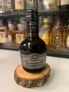 Suntory Special Reserve 10 years 50ml 酒辦