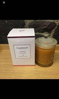 Glasshouse Tahaa vanilla caramel candle - new