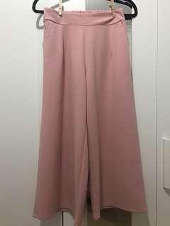 WORKS Rose Pink Culottes