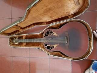 Ovation Adamas II WT Deep Bowl Acoustic-Electric Guitar