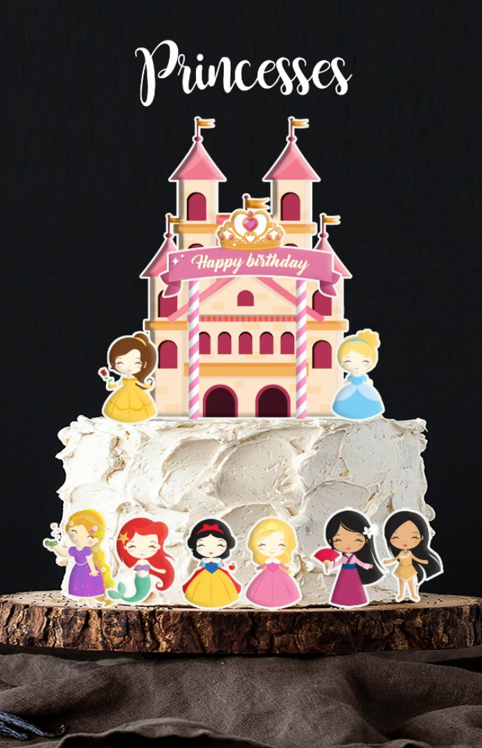 Enjoyable Princess Cake Design Top Birthday Cake Pictures Photos Images Personalised Birthday Cards Paralily Jamesorg