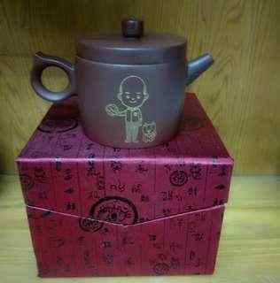 🚚 ❗優惠~只有一個❗韓國瑜Q版 紫砂壺