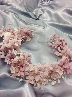 保鮮花花環