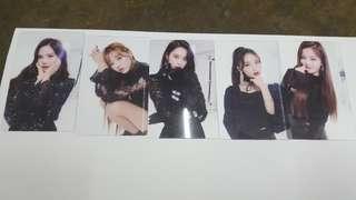 Oh My Girl transparent photocard