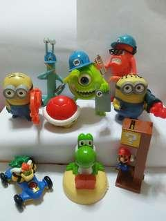 Cute figurines(9 for $10)