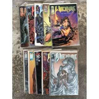 Witchblade Issues 1, 2, 3, 5, 6, 7, 8, 11, 17, 18