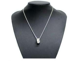 Japan Brand Pinky&Dianne Ring Silver Necklace Like Tiffany