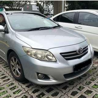 Chinese New Year Rental - Toyota Altis